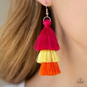 hold on to your tassels multi earrings
